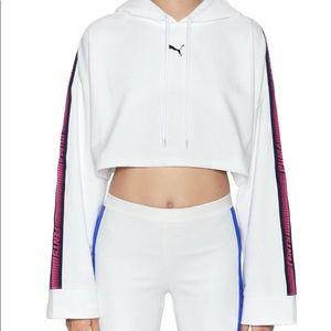 Fenty Puma Cropped hoodie by Rihanna